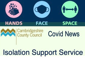Cambs County Council to launch new Isolation Support Service