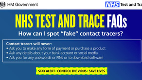 Watch out for fake 'test and trace' alerts