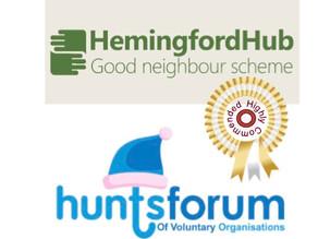 HEMINGFORD HUB's team highly commended by Hunts Forum's Volunteer Awards