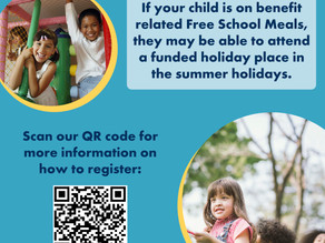 Summer Holiday Activities and Food Programme