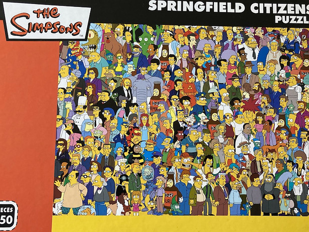 G19 The Simpsons Springfield Citizens
