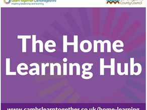 Cambridgeshire County Council's 'one-stop' Home Learning hub