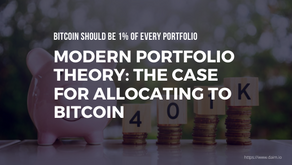 Modern Portfolio Theory: The Case for Allocating to Bitcoin