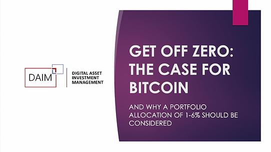 Bitcoin Research Advice