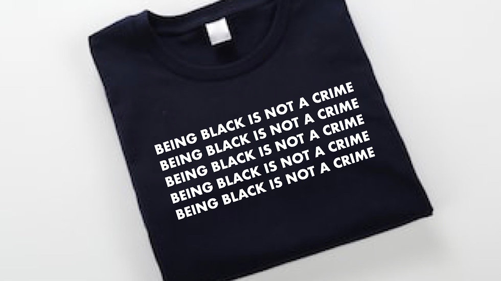 'Being black is not a crime'