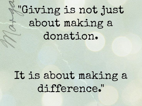 Making a difference one step at a time