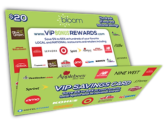 VIP Savings Card