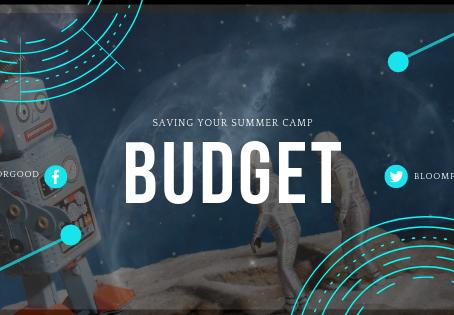 Saving Your Summer Camp Budget