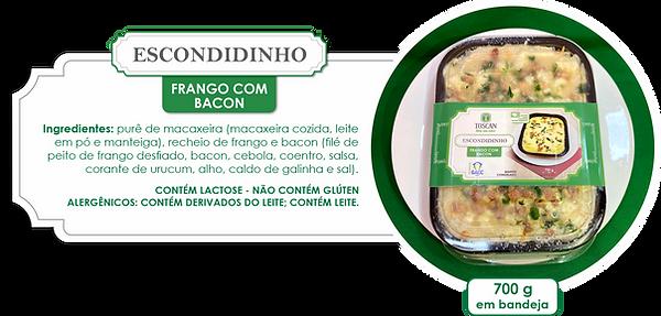 Prato pronto_Escondidinho frango com bac