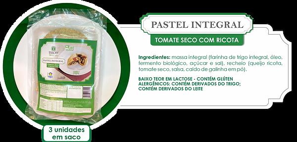 PASTEIS INTEGRAIS_TOMATE SECO COM RICOTA