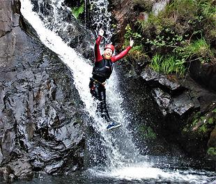 Canyoning north wales