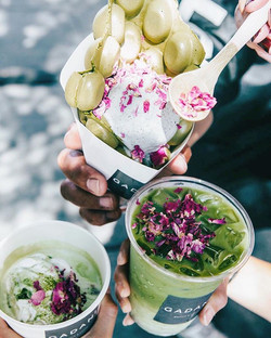 matcha latte 📷: _foodiswhyimbroke_._._.