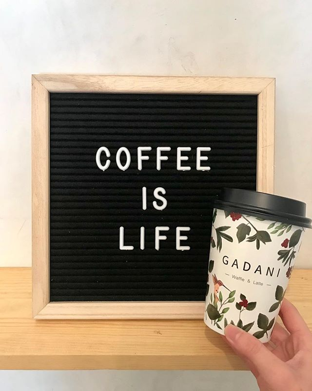 And good coffee is happiness ☺️ #lattes