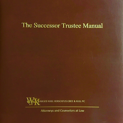 The Successor Trustee Manual
