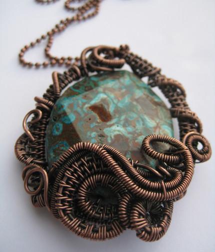 OOAK necklace by Myrna Giesbrecht