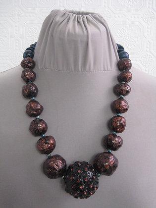 Turquoise Copper OOAK piece
