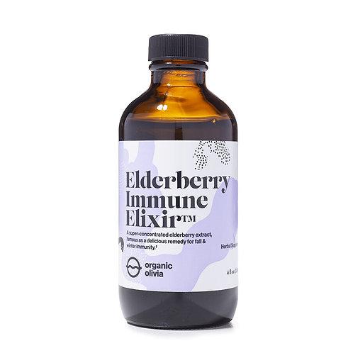 Elderberry Immune Elixir | Organic Olivia