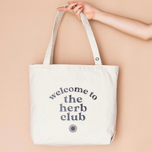 Welcome to the Herb Club tote