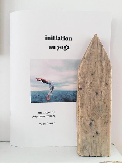 INITIATION AU YOGA - cahier d'apprentissages
