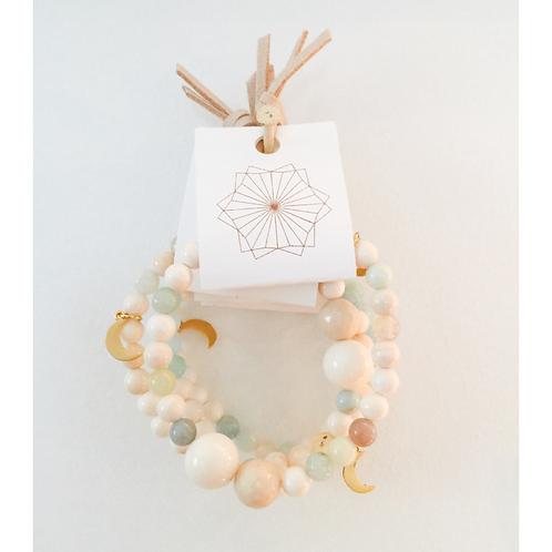 bracelets mala - douce collabo Mélusine