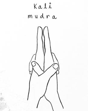 ◖ Kali mudra ◗