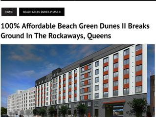 RENU/ZBF Beach Green II, Big News