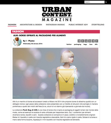 URBAN CONTEST MAGAZINE