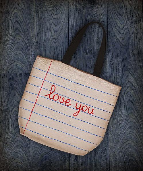 Shopping bag con ricamo Personalizzato
