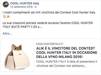 VINCITORE DEL CONTEST #VFNO MILANO 2016