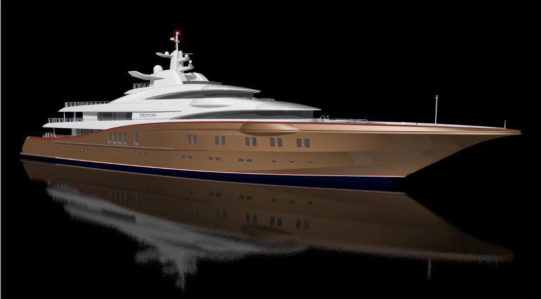Mega-Yacht 87m