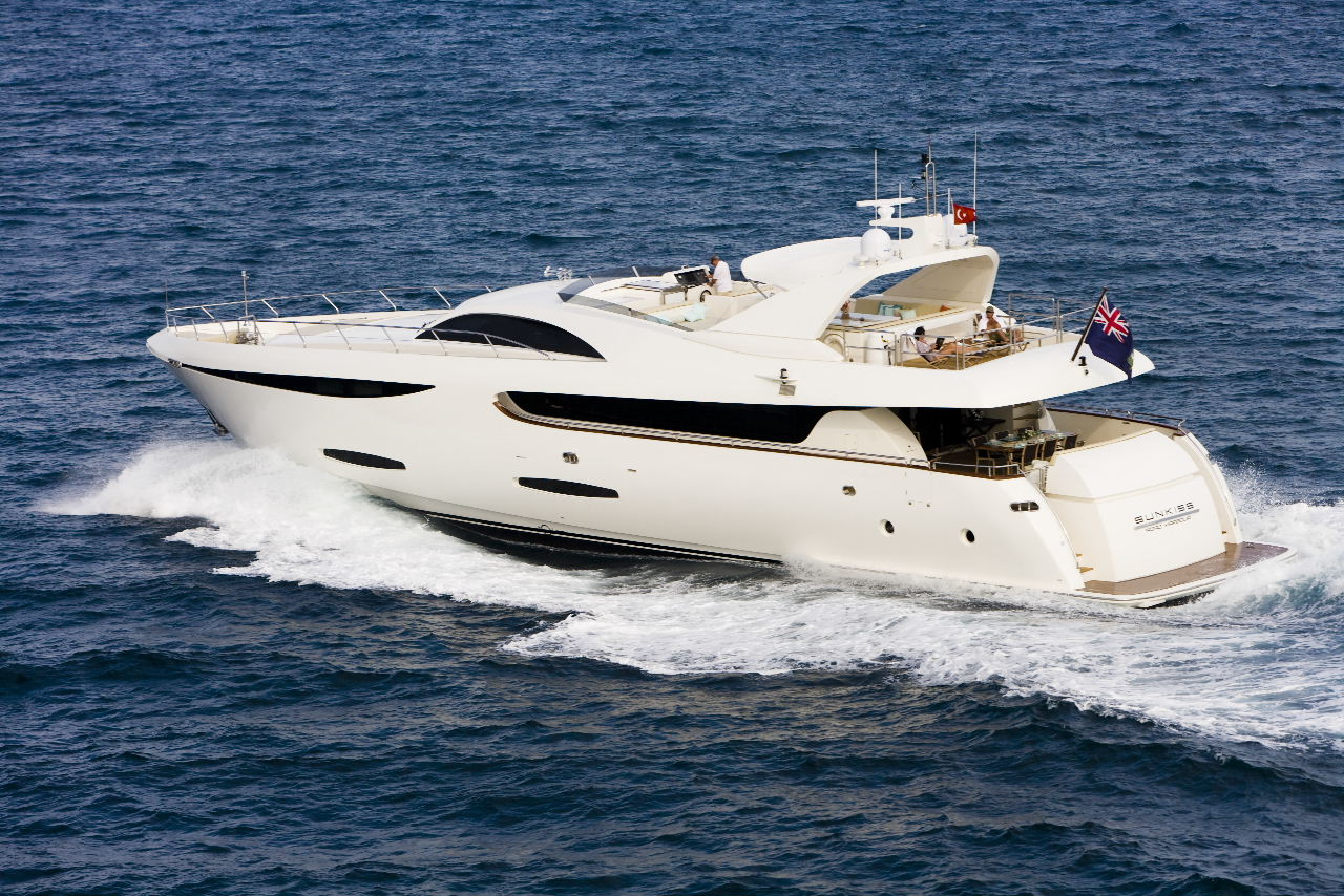 Great Yacht 33m with very attractive