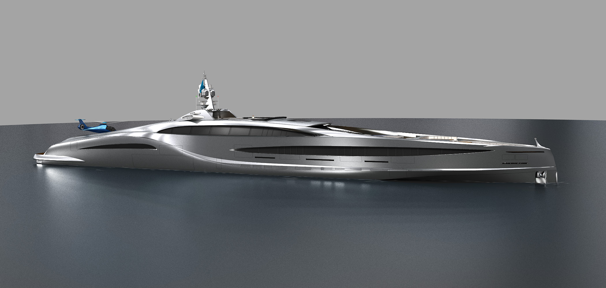 Extraordinary Super Sport Yacht 125m