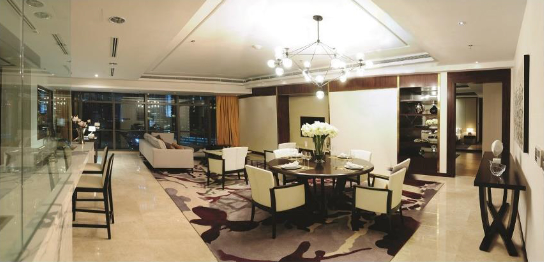 Ritz Carlton Every Residence is designed with generous layout.jpg