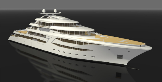 Mega-Yacht 85m