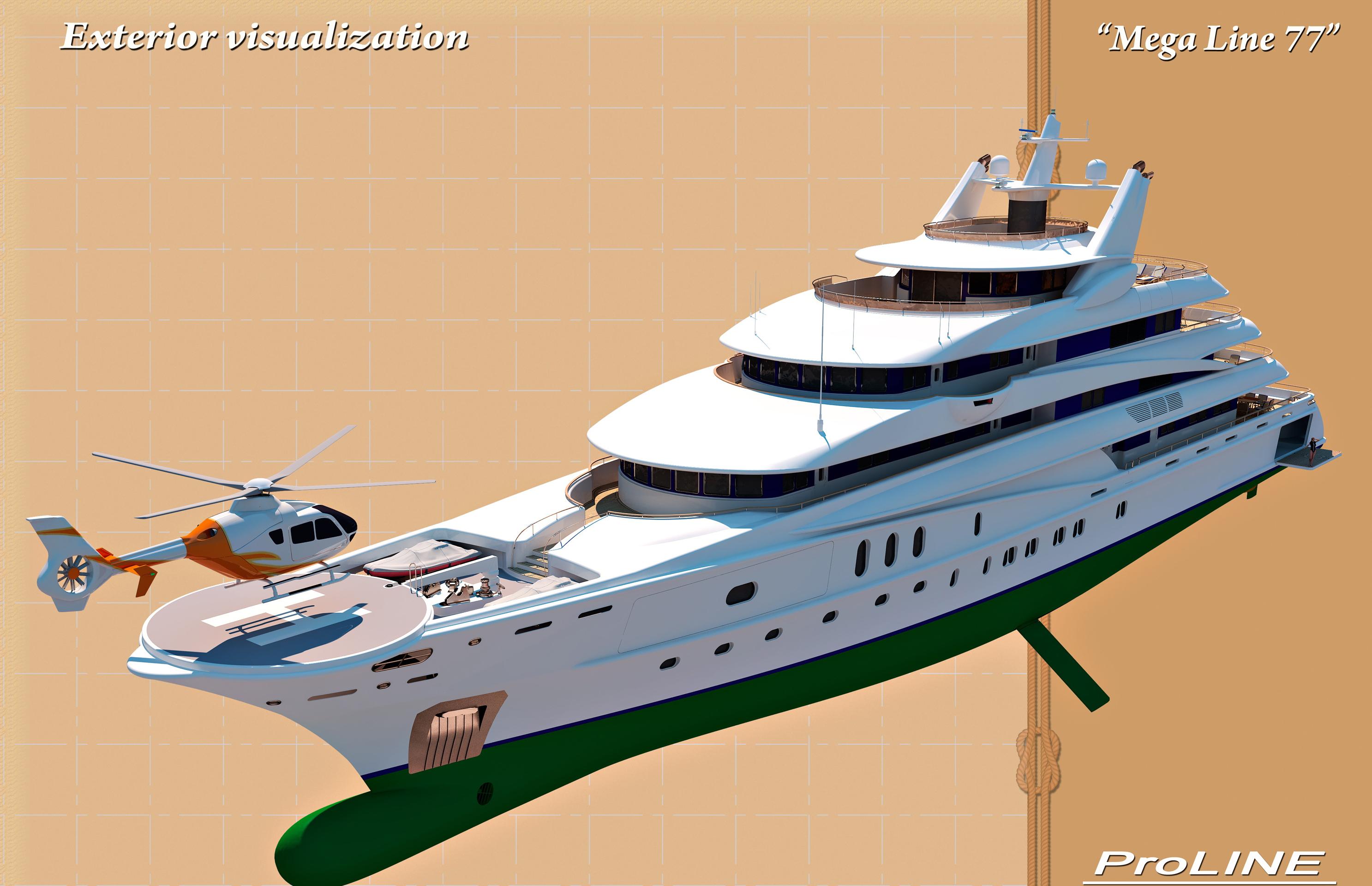 Super Yacht 77m
