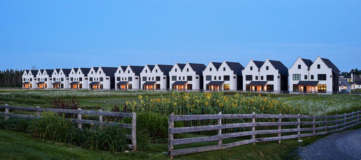 Townhomes on the farm at Hendrick Farm