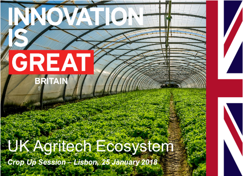 Agtech ecosystem for startups in the UK