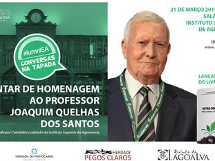 ÚLTIMOS 10 LUGARES | Jantar de Homenagem ao Prof. Joaquim Quelhas dos Santos
