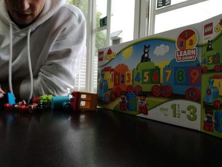 Lego ブロックを使って英語で遊ぼう!!