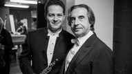 With Riccardo Muti