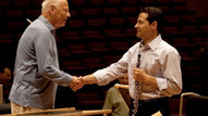 With Bernard Haitink at Berlin Philharmonie