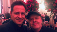 With Lars Ulrich