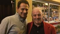 With Daniel Barenboim in Vienna