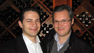 With Vadim Repin after Brahms Violin Concerto