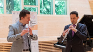 Warming up with Denis Bouriakov at 2019 Tchaikovsky Competition