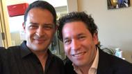 With Gustavo Dudamel in Santa Barbara