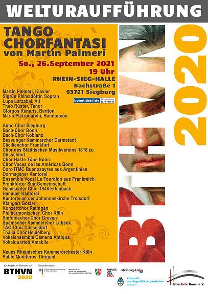 Plakat A3 Tango Chor Fantasie 2020 CHOIR