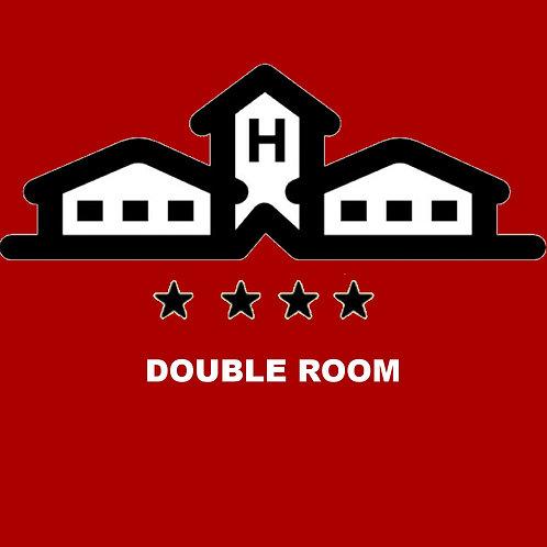 HOTEL DOUBLE ROOM x 5 p. P.