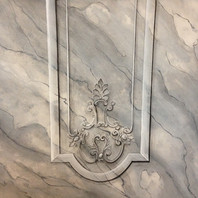 Marble and trompe l'oeil