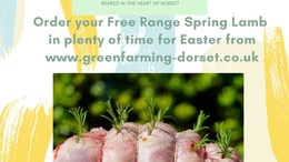 Order now Lamb for Easter!